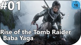 Let's Play Rise of the Tomb Raider Baba Yaga  [deutsch] #01 - Die Hexe Baba Yaga