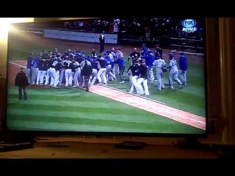 Royals vs White Sox Brawl
