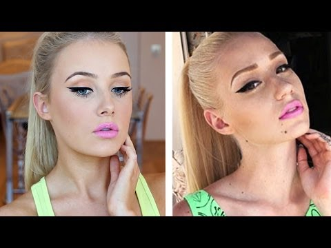 Iggy Azalea Inspired Makeup Tutorial