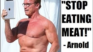 ARNOLD SCHWARZENEGGER VEGAN REACTION
