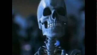 Michael Jackson's skeleton dance from