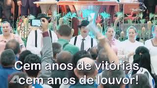 Coral e Orquestra cantam o hino do Centenário da Assembléia de Deus na Paraíba (16/12/2018)