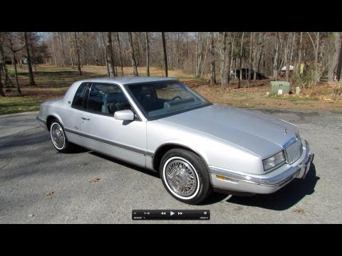 1989 Buick Riviera w/ CRT Interface Demo Start Up. Exhaust. and In Depth Review