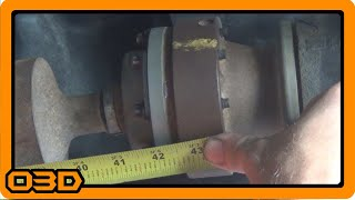 Measuring for Tom Woods Driveshafts - Jeep JK with Dynatrac PR44 Front Axle