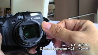 Canon G12 Hands-on