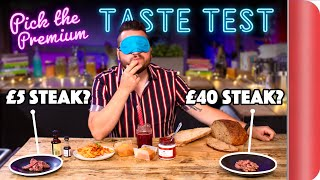 Blind Tasting PREMIUM Ingredients vs BUDGET Ingredients   Where Best to Spend Your Money? Ep. 2