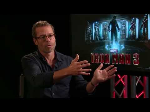 Guy Pearce on Iron Man 3, Shaving His Head and More...