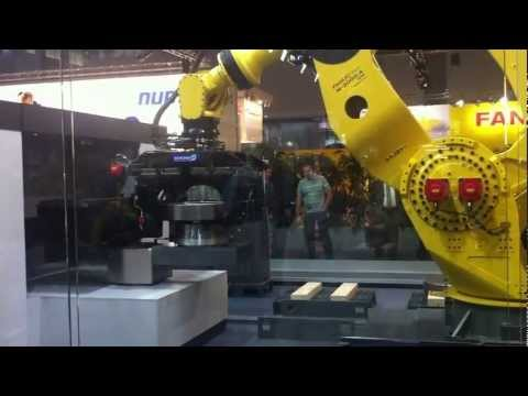 FANUC Industrial Robot lifts 1350 kg (Part 1)