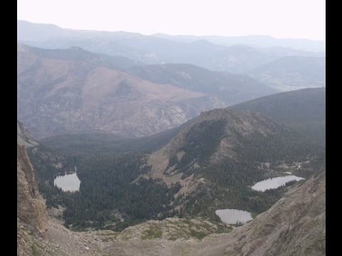 Backpacking Rocky Mountain National Park-August 2014