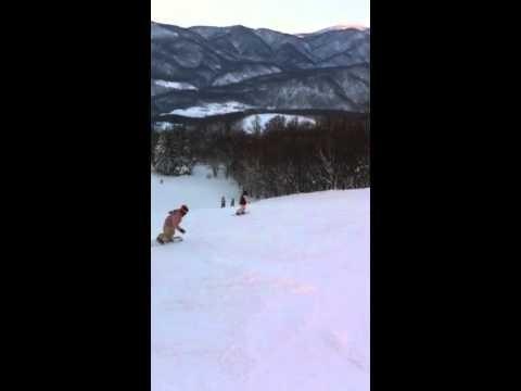 2011.02.11 Gaku in Asari purple course 4