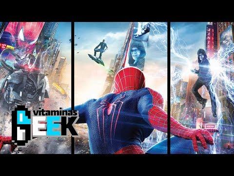 El Sorprendente Hombre Araña la Amenaza de Electro | Vitaminas Geek
