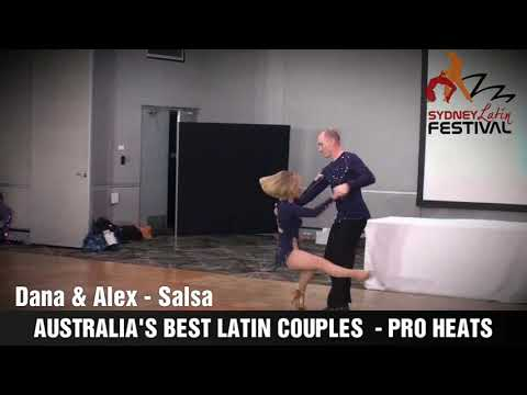AUSTRALIA'S BEST LATIN COUPLES - DANA & ALEX