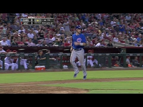 CHC@ARI: Castillo's RBI double puts Cubs on the board