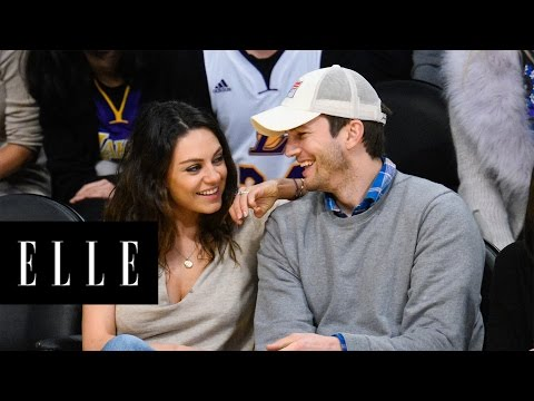 Mila Kunis and Ashton Kutcher Are Officially Married! - Elle