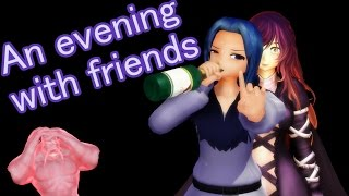 Touhou MMD - An evening with friends