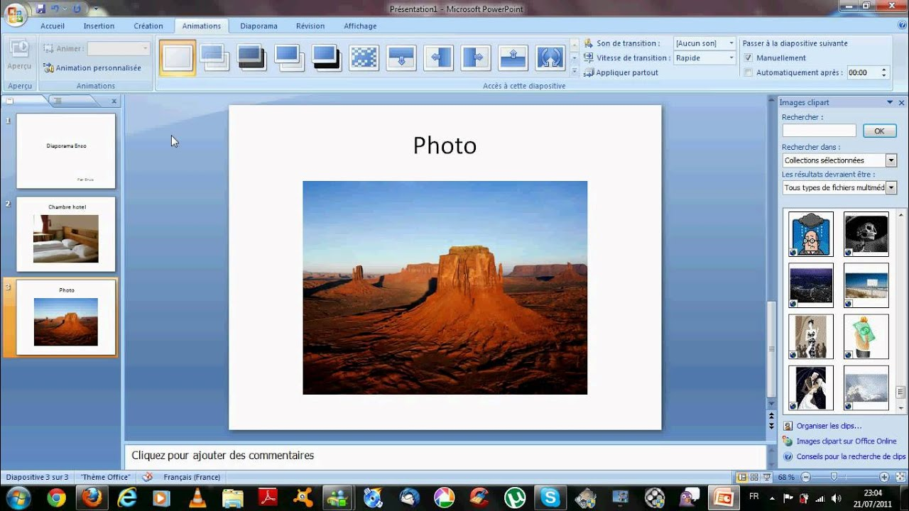 Faire un diaporama avec powerpoint youtube - Comment faire un diaporama sur open office ...