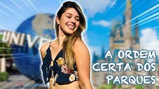 A ORDEM PERFEITA PARA FAZER OS PARQUES DE ORLANDO