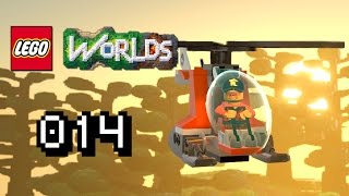 HELIKOPTER, GORILLA, WEISSE FACKEL !!  - Let's Play Lego Worlds Gameplay #014 [Deutsch] [60FPS]