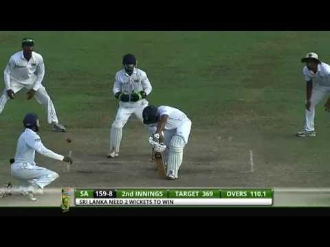 Sri Lanka v South Africa 2nd Test - Day 5: Highlights