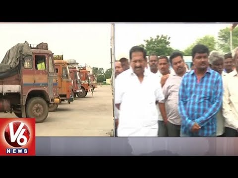 Special Story | Warangal Farmers Face Problems As Lorry Owners Strike Enters 3rd Day | V6 News