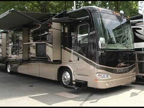 Review of Tuscany Motorhome by Damon: Quality & Exterior #1 (Diesel RV Motor Home 2010 2011)