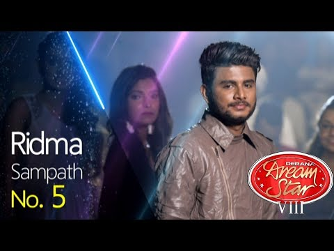 Derana Dream Star Season VIII | Sara Goiya Hari Miniha By Ridma Sampath