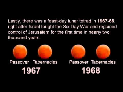 FEAST DAY (BLOOD MOON) ECLIPSES in 2014 - 15 (What Do They Mean?)