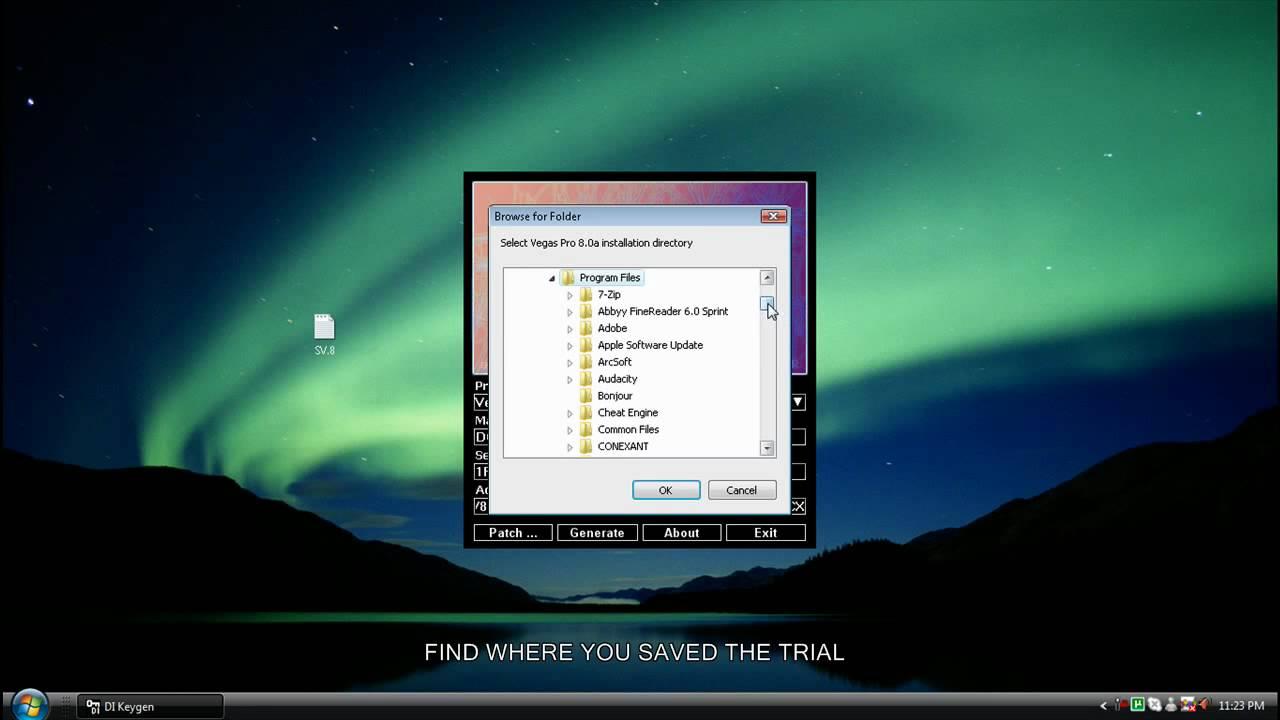 Sony vegas pro 8.0 serial key