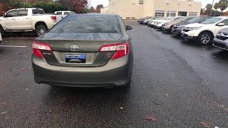 2014 Toyota Camry Columbia, Lexington, Irmo, West Columbia, Aiken, SC UC2574A