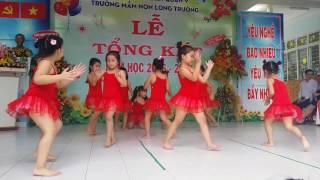 Nhảy  nhịp  điệu  tạm  biệt  búp  bê  #khoila#mnlongtruong