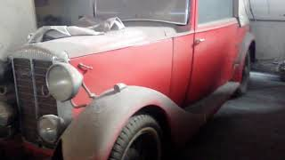 Vintage cars and bikes ( Uncleared video)