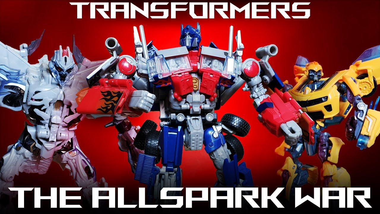 Transformers The Allspark War REMASTERED Stop Motion