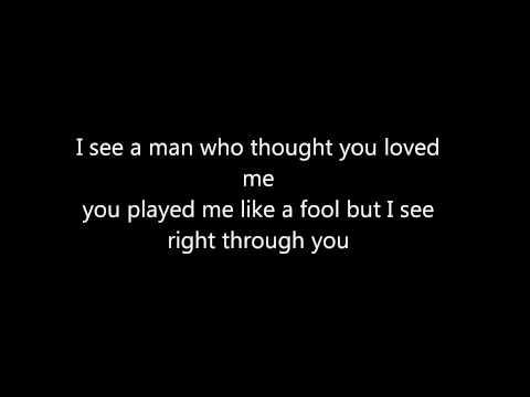 *NSYNC - *NSYNC- See Right Through You Lyrics (on screen)