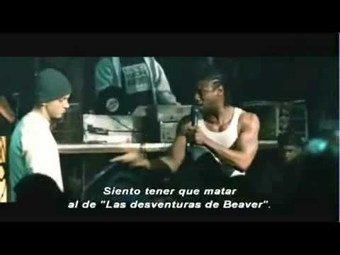 What are the lyrics to the 8 Mile first rap battle? - Quora