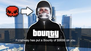 I put Bounties on GTA Tryhards and This Happened...