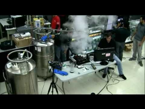 AMD Overclocking Challenge SUCCESS - 6.93GHZ with ComputerTV @ CompUSA