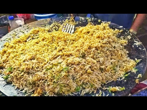 Delicious Egg Pulao Ever | Fried Rice Street Food | Egg Street Food In India | Scrambled Egg recipes
