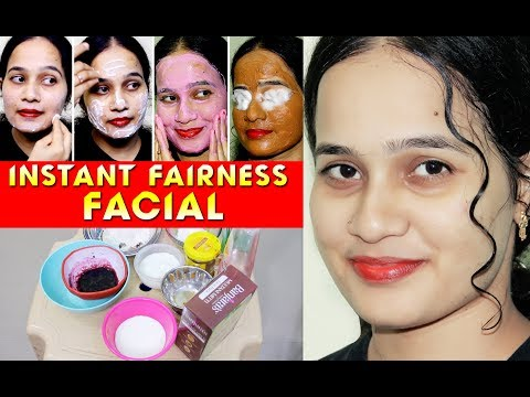 100% உண்மை | INSTANT Skin Brightening, Glowing at Homemade Facial | Beauty Tips | Sweety Tv