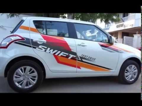 #Cars@Dinos: New Maruti Suzuki Swift Interior Exterior Walkthrough (price, mileage, etc.)