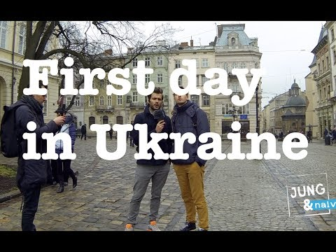 EU flags everywhere - Jung & Naiv in Ukraine: Episode 120