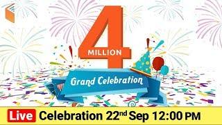 4 Million Live Celebration | wifistudy