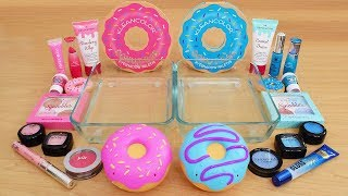 Pink vs Blue - Mixing Makeup Eyeshadow Into Slime Special Series 200 Satisfying Slime Video