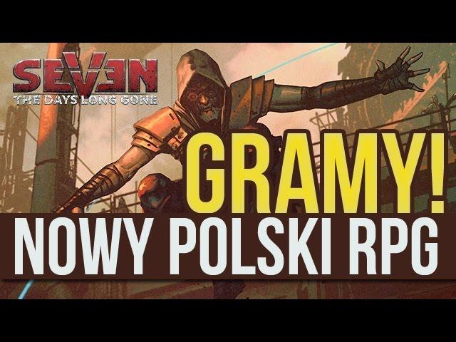 Gramy w nowego polskiego RPG-a postapo! Oto SEVEN! [tvgry.pl]