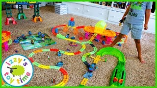 THE MOST COLORFUL THOMAS TRACKMASTER TRACK EVER MADE