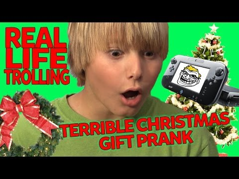 Trolling Grinch: Giving Kids Bad Christmas Gifts