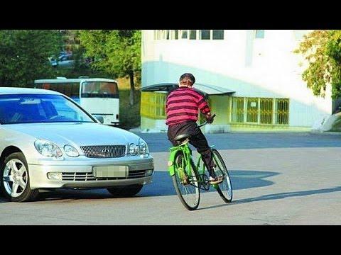 ДТП с велосипедистами / Подборка 2013