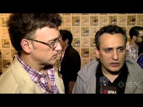 The Winter Soldier: Anthony & Joe Russo Interviews - Comic-Con 2013