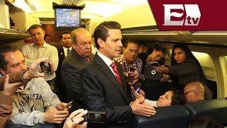 Pen?a Nieto llega a Madrid para una visita de estado / Exce?lsior en la media