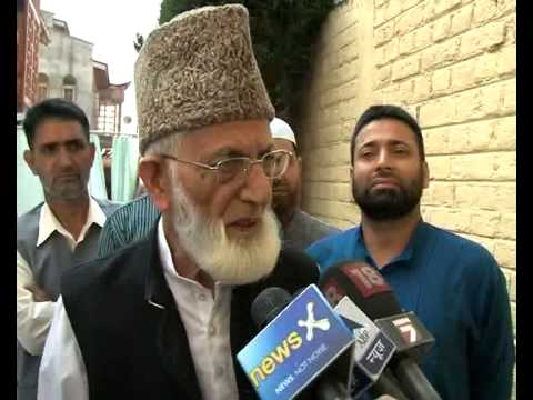 Kashmir is an international issue, not an internal one: Syed Ali Shah Geelani