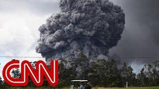 Summit of Hawaii's Kilauea volcano erupts